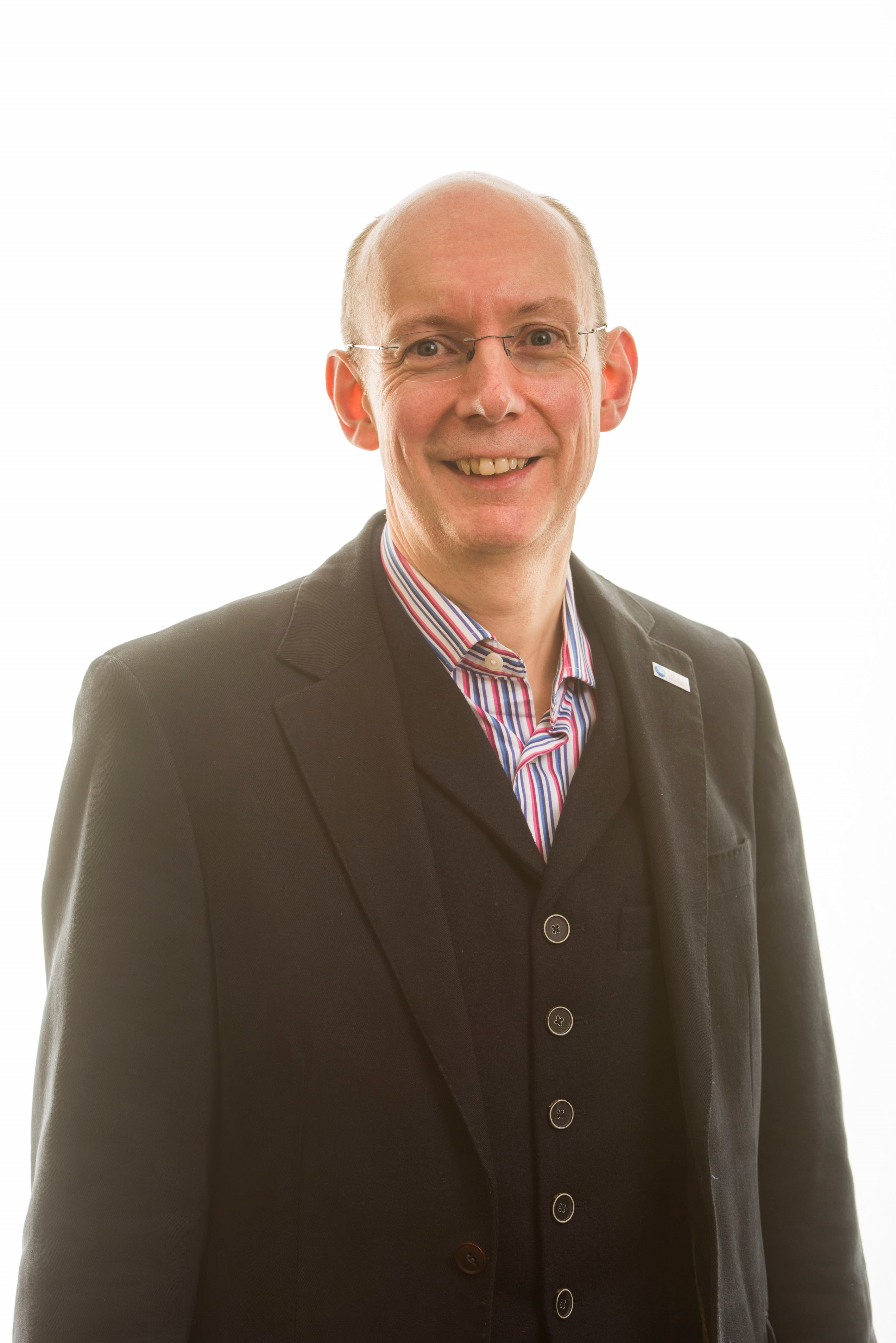 Gordon Hunt, current Chair of the Scottish Library and Information Council (SLIC)