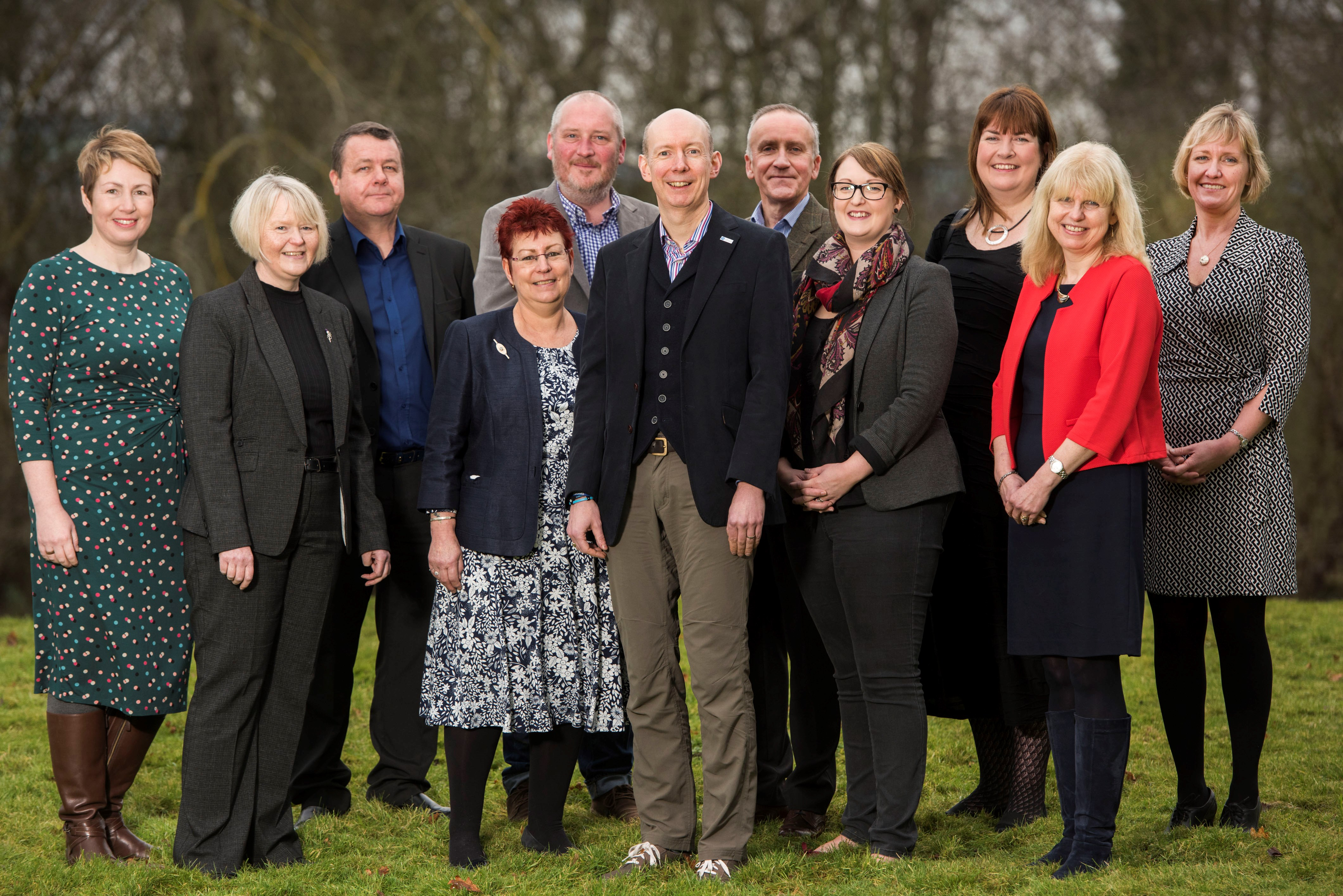 Group shot of the current Scottish Libraries and Information Council (SLIC) board.