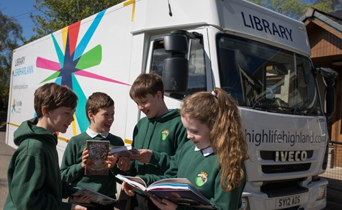 Mobile library and children