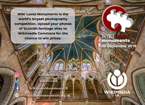 Wiki Loves Monuments 2019 Poster