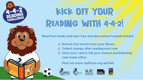 443 Reading Challenge Poster
